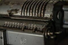 Calculadora velha Fotos de Stock Royalty Free