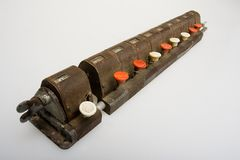 Calculadora vieja Fotografía de archivo libre de regalías