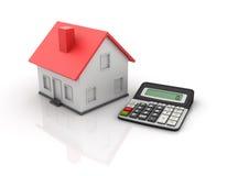 Calculadora y casa