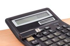 Calculadora y memoria USB foto de archivo libre de regalías