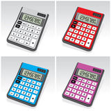 Calculadoras Foto de Stock Royalty Free
