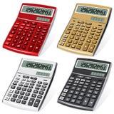 Calculadoras Fotografia de Stock