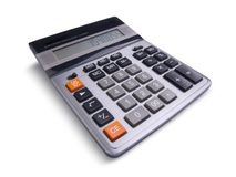 Calculate it! Royalty Free Stock Photo