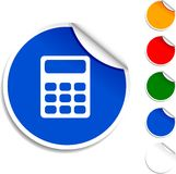 Calculate  icon. Stock Photo