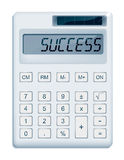 Calculated success Royalty Free Stock Photography