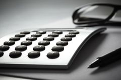 Free Calculater Stock Image - 45635771