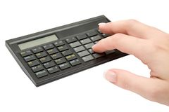 Calculating Stock Photography