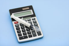Calculating Healthcare Costs Stock Photos
