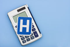 Calculating Healthcare Costs Royalty Free Stock Photography