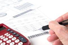 Calculating Investment Returns Stock Photos
