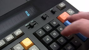 Calculating Machine Stock Photos