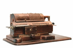 Calculating machine Stock Photos