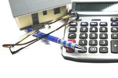 Calculating mortgage Stock Photos