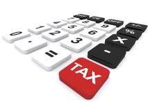Calculating tax Stock Photos