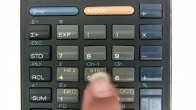 Calculating stock footage
