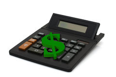 Calculating your finances Stock Photos