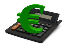 Calculating your finances Stock Images