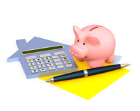 Calculation Royalty Free Stock Image