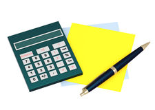 Calculation Royalty Free Stock Photo