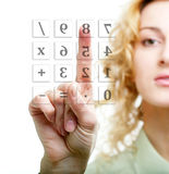 Calculation Royalty Free Stock Photos
