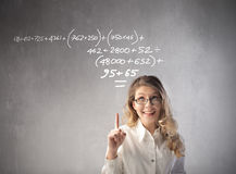 Calculation Royalty Free Stock Images