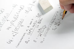 Calculation from asme code Royalty Free Stock Photo