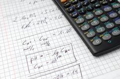 Calculation and calculator