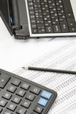 Calculations Royalty Free Stock Photo