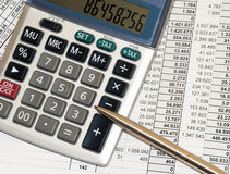 Calculations Stock Images
