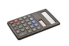 Calculator. Pocket calculator on white background Stock Photography