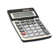 Calculator. Office calculator on a white background Stock Photo