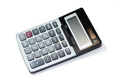 Calculator. Standard calculator on a white background Royalty Free Stock Photography