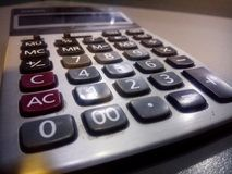 Calculator stock afbeeldingen