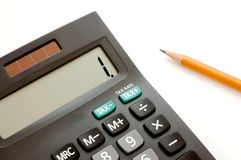 Calculator 2 Royalty Free Stock Photo