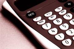 Calculator. Close-up of calculator royalty free stock image