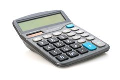 Calculator. Royalty Free Stock Image
