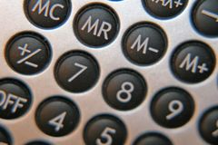 Calculator Stock Photography