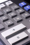 Calculator. Close up detail of a financial calculator Stock Images