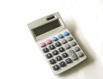 Calculator. Isolated on white background stock image