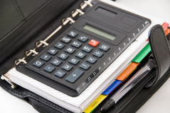 Calculator Royalty-vrije Stock Foto's