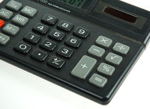 Calculator. Close up of a calculator Royalty Free Stock Photography