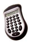 Calculator. Isolated over white background Stock Photo