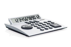 Calculator. On Isolated White Background Royalty Free Stock Images