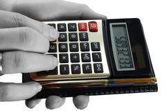 Calculator Royalty-vrije Stock Fotografie