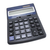 Calculator. Isolated on white background (clipping path included Royalty Free Stock Images