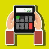 Calculator accountant tax money. Illustration eps 10 Royalty Free Stock Photos