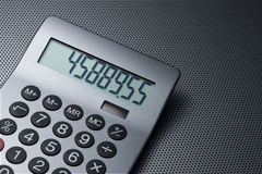 Calculator Background Stock Photography