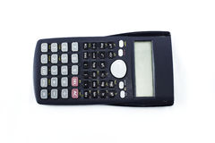 Calculator on background Stock Image