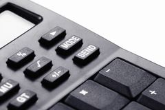 Calculator buttons Royalty Free Stock Photos
