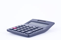 Calculator for calculating the numbers accounting accountancy business calculation  on white background isolated side view Royalty Free Stock Photography